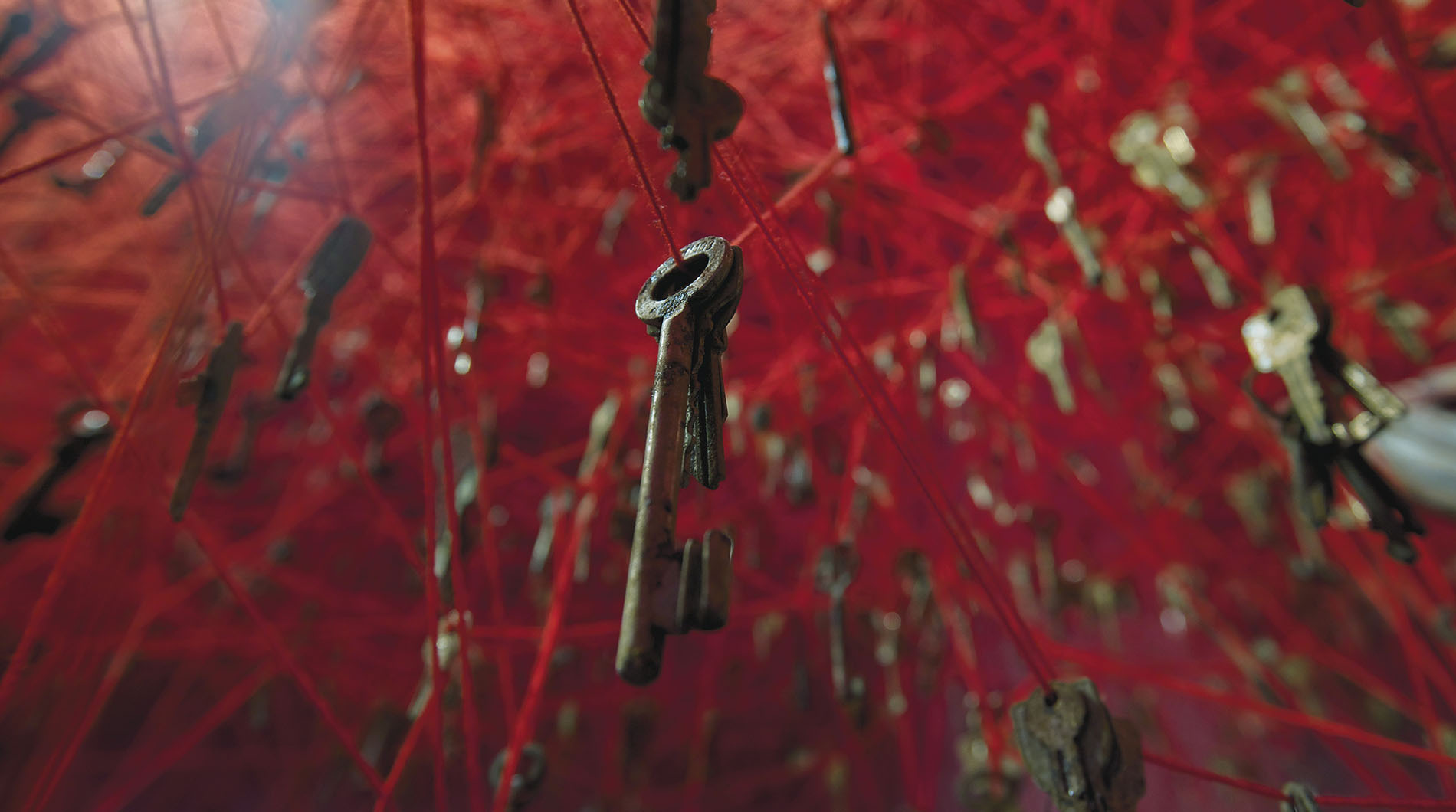 """The Key in the Hand"" detail, photo by Sunhi Mang, 2015.veneziabiennale-japanpavilion.jp"