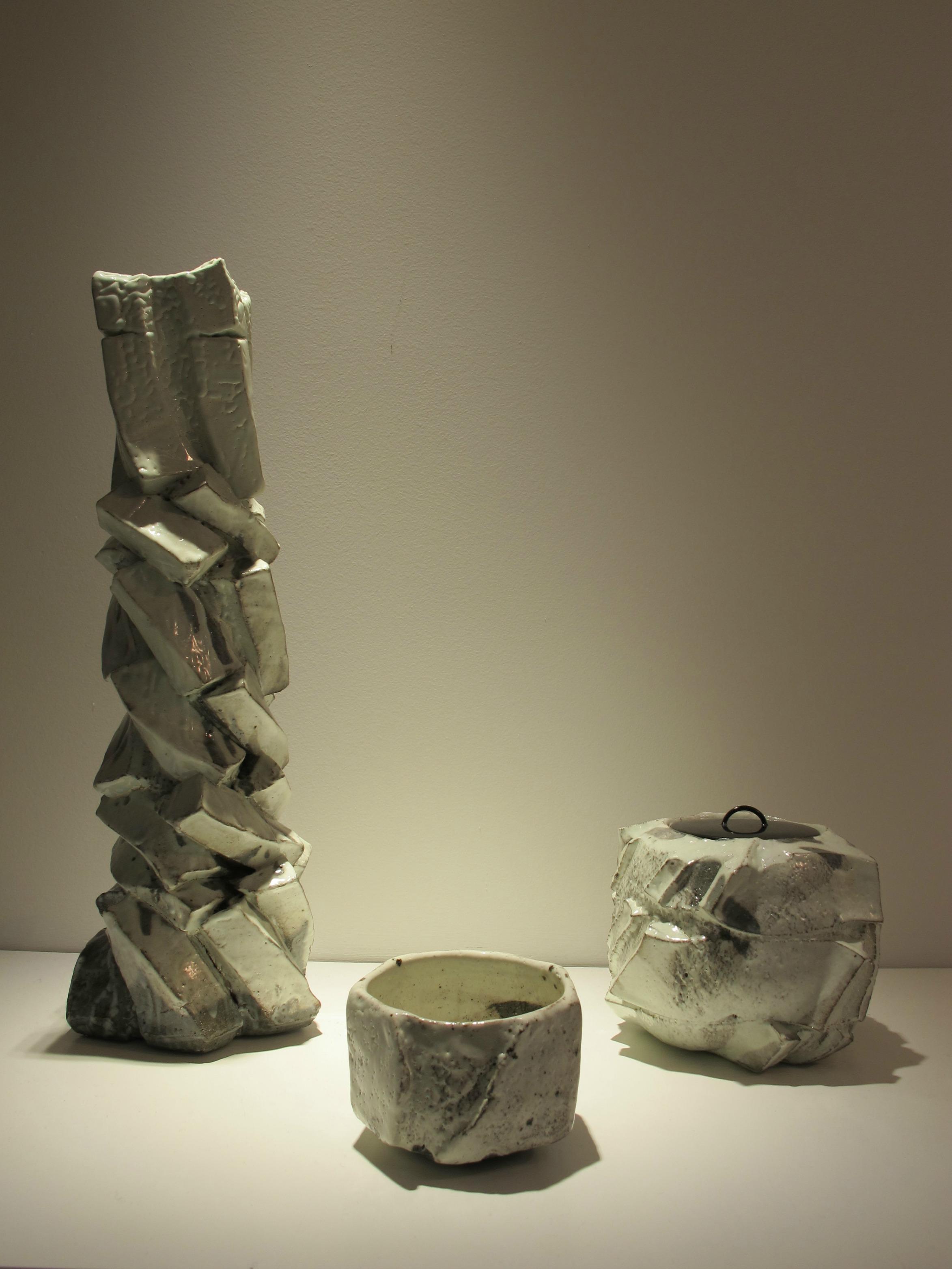 Ceramics by Shozo Michikawa, photo by Cristina.
