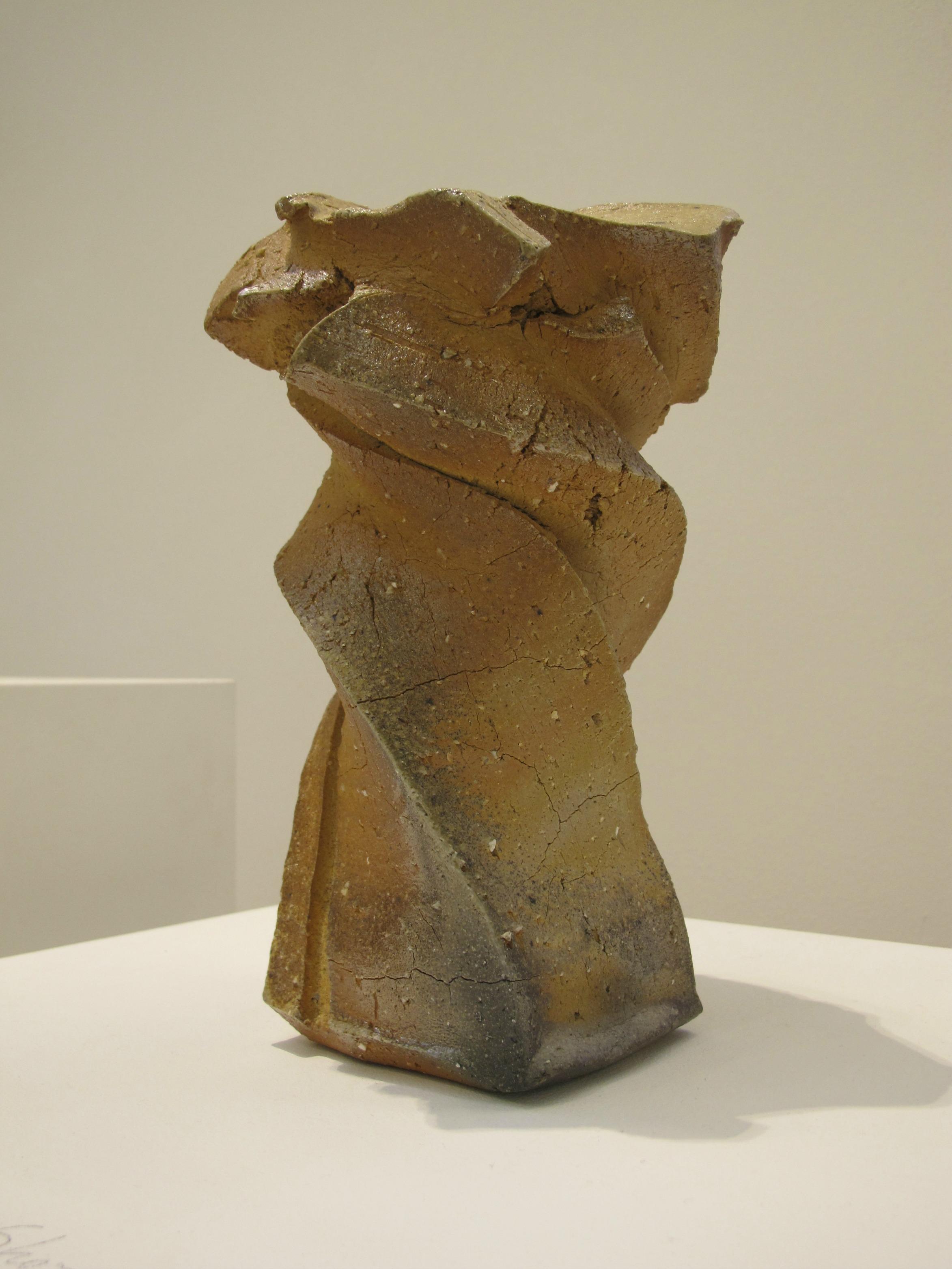 Ceramic by Shozo Michikawa, photo by Cristina.