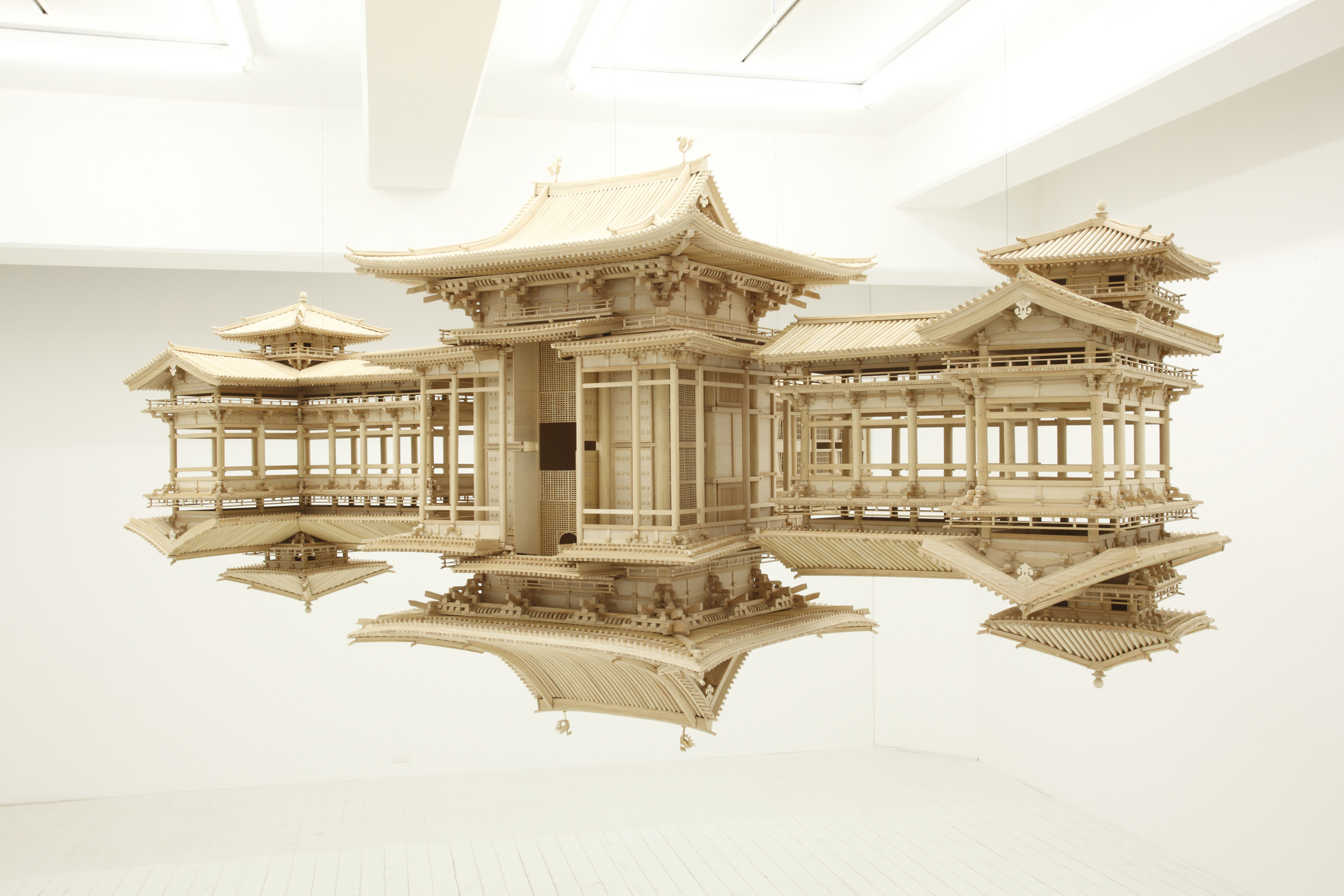 "Cycle works ""Reflection Model"", 2013-14, By Takahiro Iwasaki."