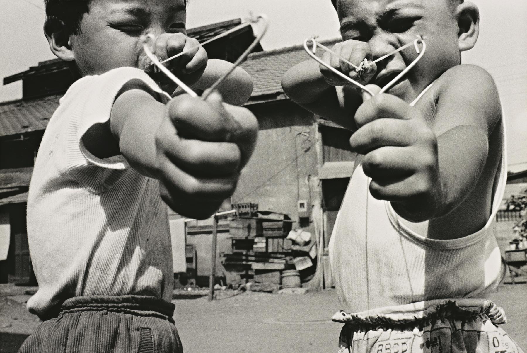 """Satchin and his brother Mabo"", 1963, by Araki Nobuyoshi."