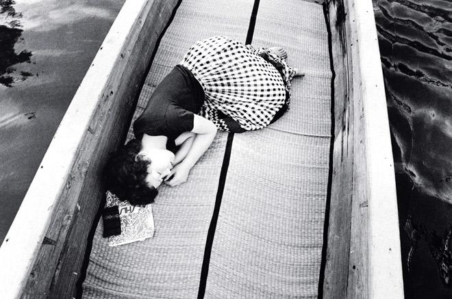 """""""Sentimental Journey"""", 1971, by Araki Nobuyoshi."""