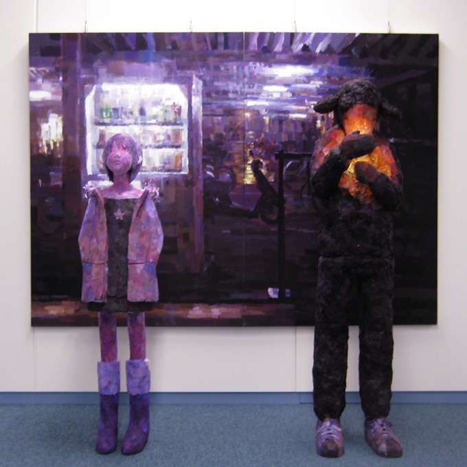 """Shelter from the Rain'', 2007, by Shintaro Ohata"
