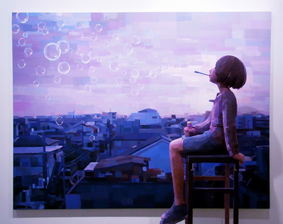''The end of the Beginning'', 2010, by Shintaro Ohata