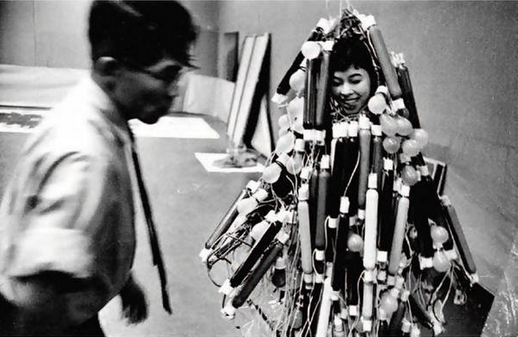 """Electric Dress"", 1956, Atsuko Tanaka"